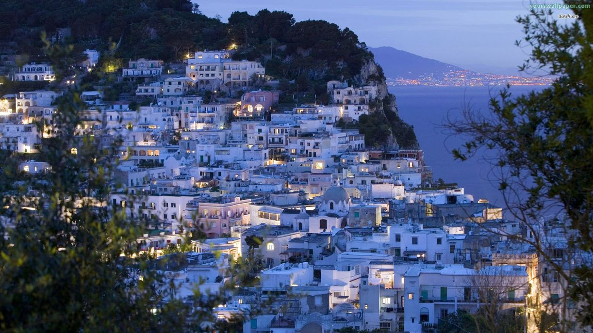 Amalfi Coast Naples night