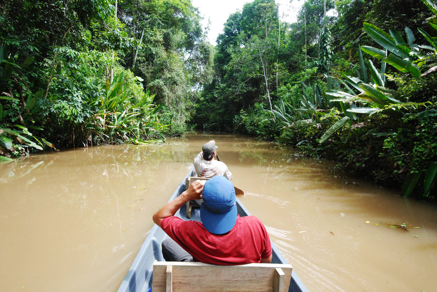 Amazon canoe napo