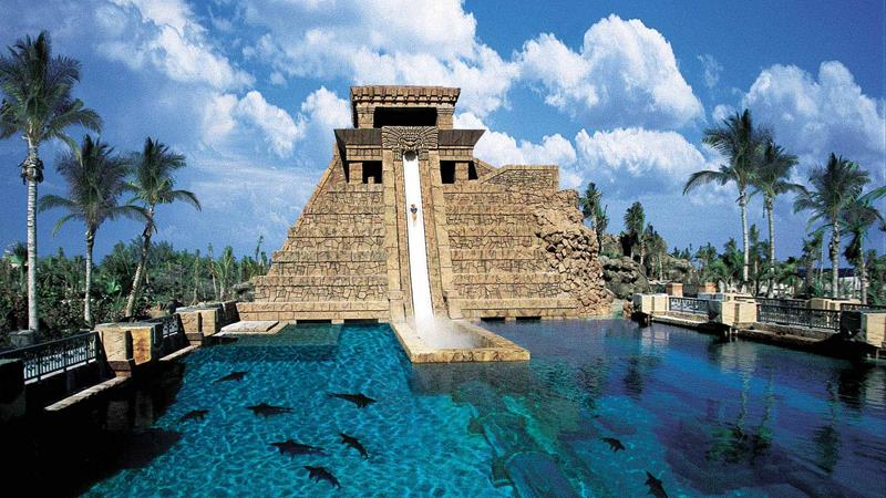 Atlantis Mayan Slide