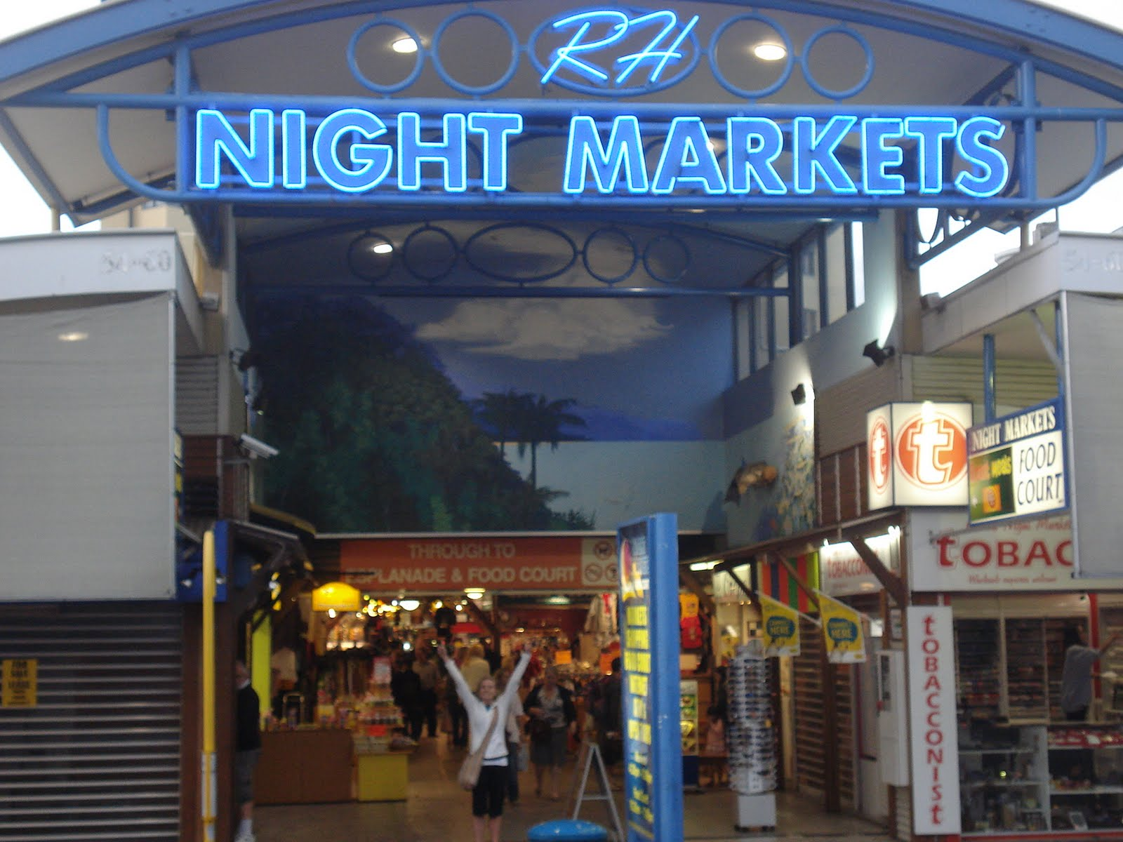 Cairns night market