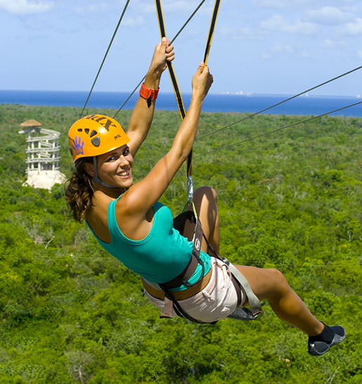 Cancun Xplor Zip line