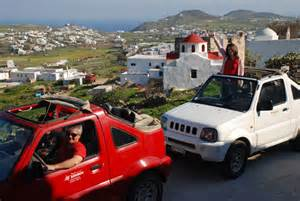 Greece jeep safari