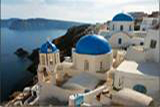 Greek Island Greece Santorini Church