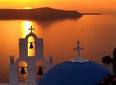 Greek Island greece santorini sunset