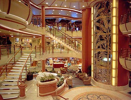 Island princess interior