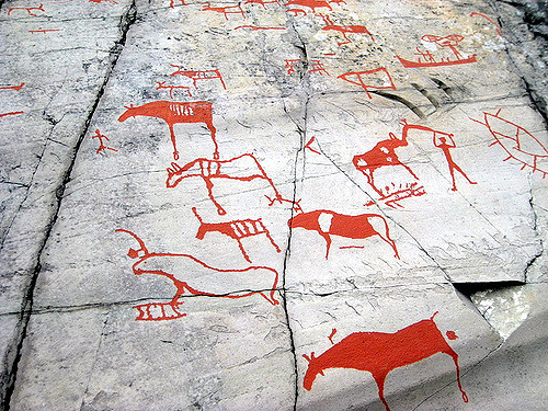 Rock art Alta Norway