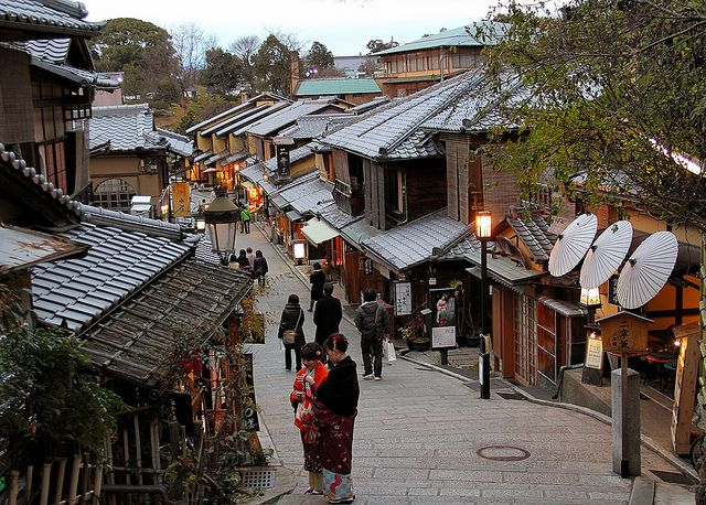 Higashiyama District Kyoto