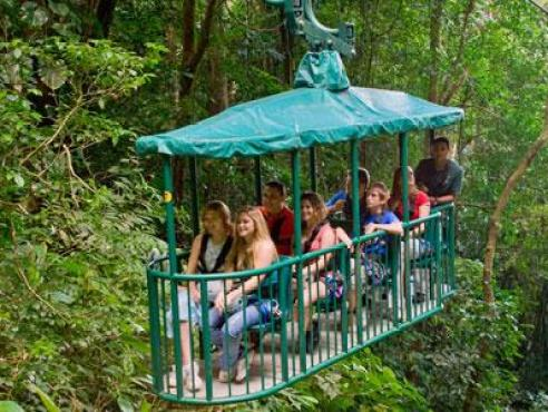 Rain Forest Aerial Tram Pacific