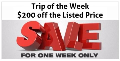 Singles Trip of the Week Sale