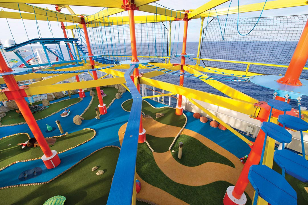 NCL Breakaway Mini Golf Ropes