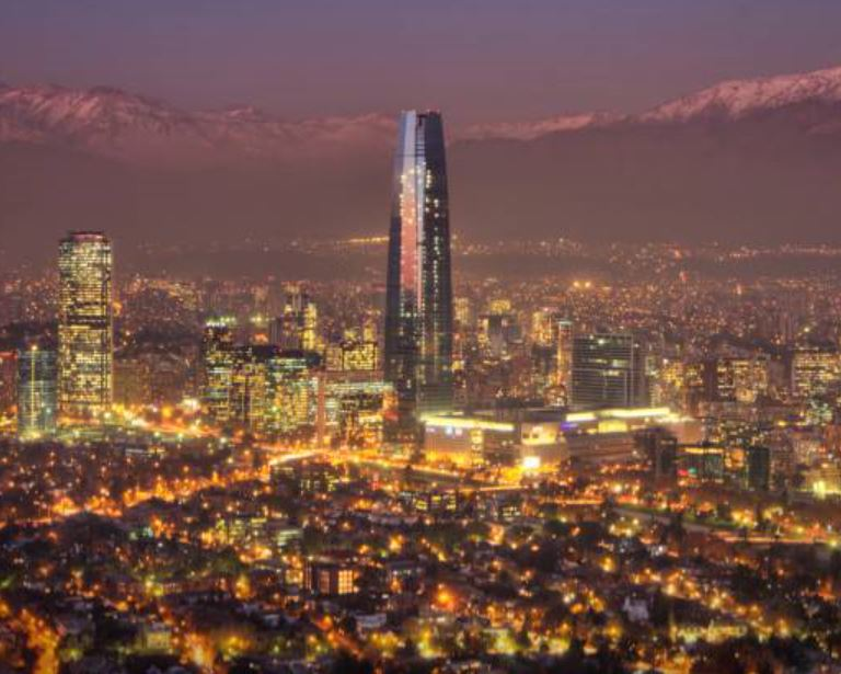 Santiago Chile night