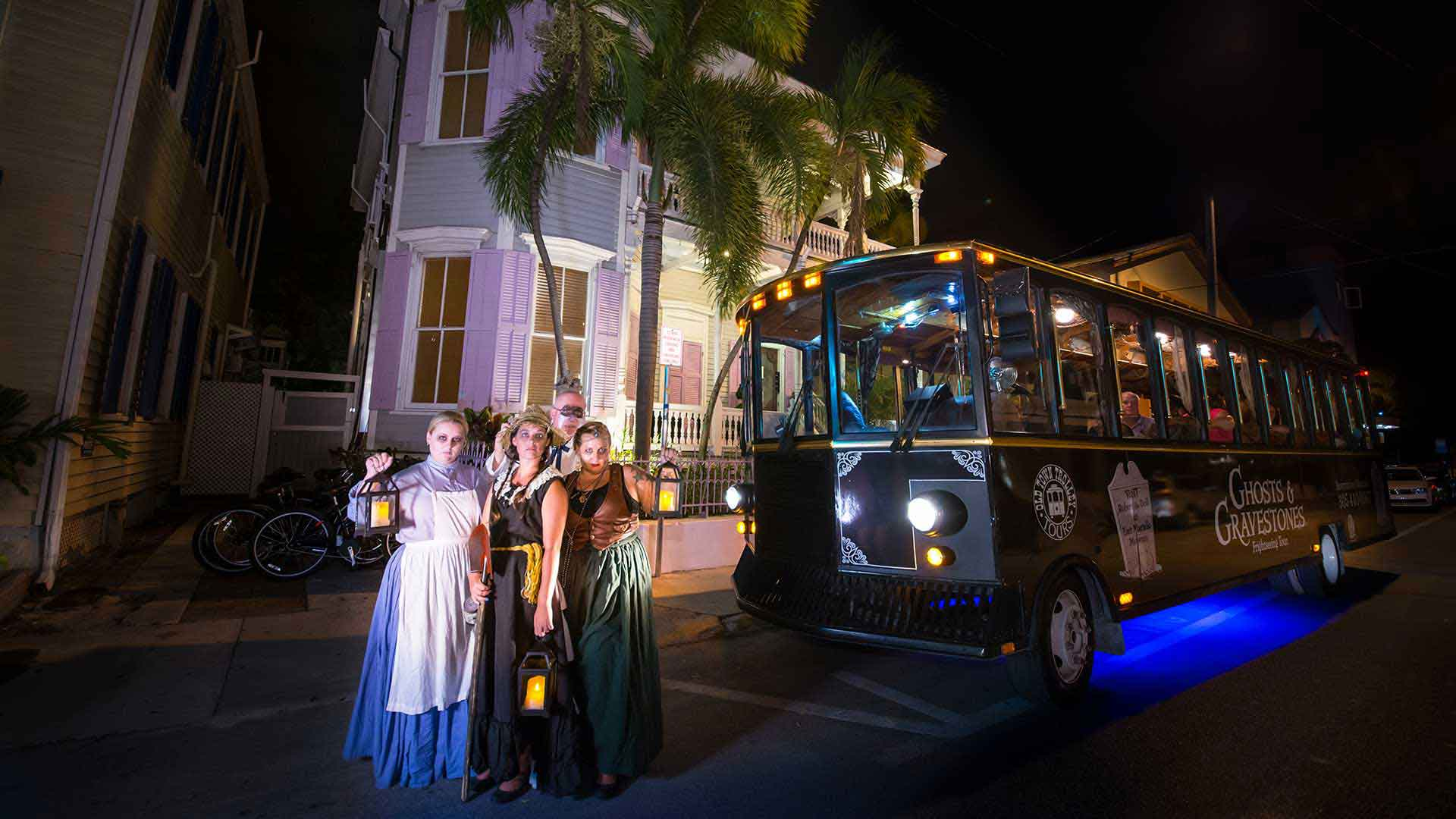 key west haunted trolley