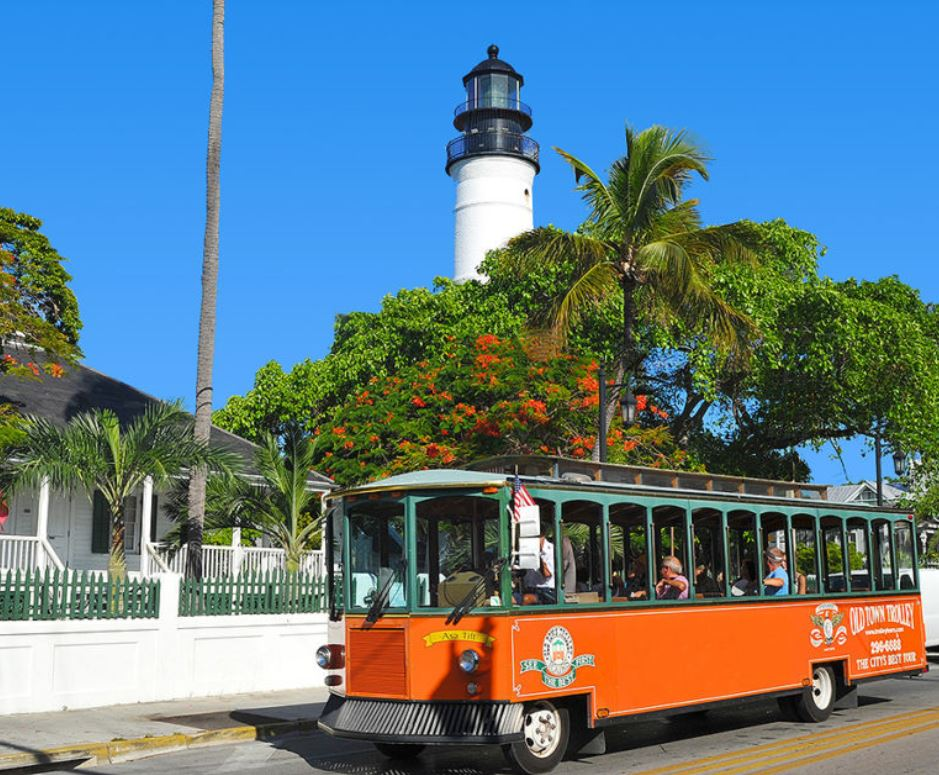 key west trolley