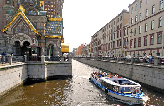 Baltic canal cruise russia